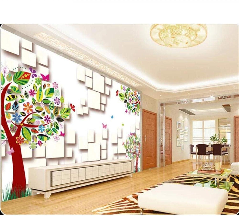 comprar descuentos Lvabc Papel Tapiz Personalizado Personalizado Personalizado Mural Cuadro 3D Hierba verde Fantasía árbol De Dibujos Animados Tv Fondo Fondo De Pantalla Para Parojoes 3 D-200X140Cm  vendiendo bien en todo el mundo