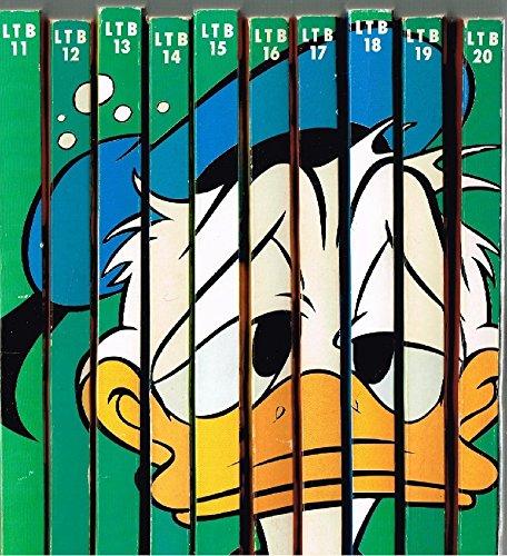 10 x Lustiges Taschenbuch: LTB 11, 12, 13, 14, 15, 16, 17, 18, 19, 20 = komplettes Buchrückenmotiv Disney Comic Sammlung Konvolut Set