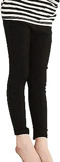 [プチハピ] レギンス パンツ 長ズボン 薄手 ストレッチ あり ウエスト ゴム キッズ 男女兼用