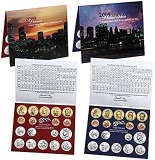 2009 U.S. Mint - 36 Coin Uncirculated Set with CoA Set Uncirculated