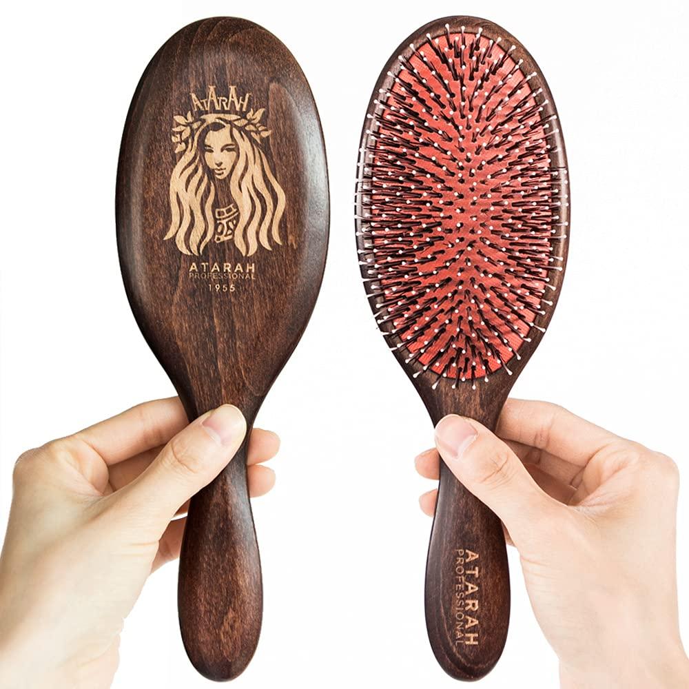 Hair Brush DETANGLING ATARAH Professional 新作 Hand-made Premi 日本正規品