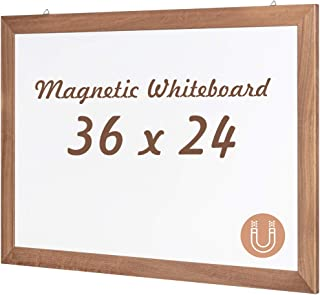 Best large magnetic board with frame Reviews