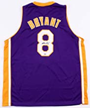 Kobe Bryant Autographed Purple Lakers Jersey - Hand Signed By Kobe Bryant and Certified Authentic by PSA - Includes Certificate of Authenticity