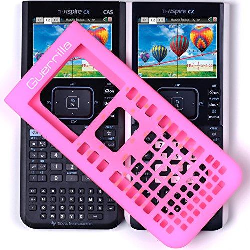 Guerrilla Silicone Case for Texas Instruments TI Nspire CX/CX CAS Graphing Calculator, Pink Photo #5
