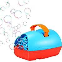 Theefun Portable Automatic Bubble Machine for Outdoor/Indoor Use