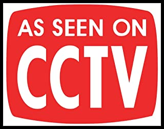 New Color Sticker As Seen On CCTV TV Criminal Thug Gangsta Outlaw Parody Funny