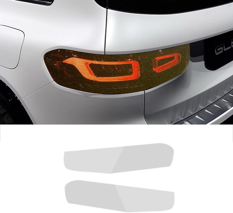 MVMTVT 2 Pcs Car Headlight Film Weekly update Max 59% OFF Protective Transparent Headlamp