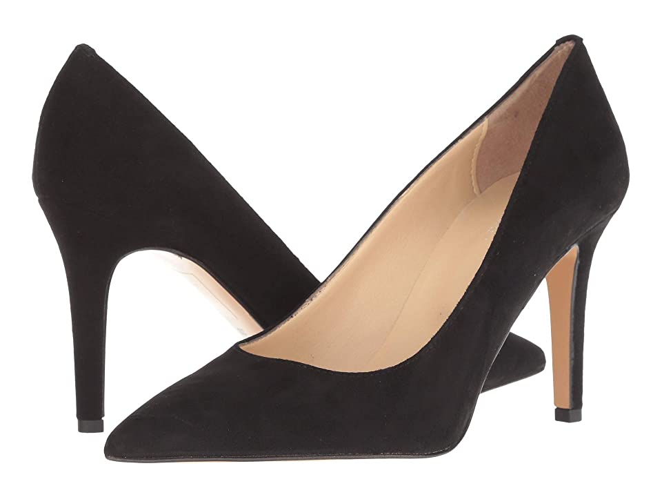 Summit by White Mountain Melissa Heel (Black Suede) High Heels