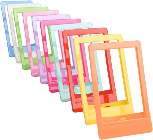 "lowest Polaroid 10 Colorful 2x3"" Mini Photo Picture Frames For 2x3 Photo Paper (Snap, 2021 Zip, lowest Z2300) outlet online sale"