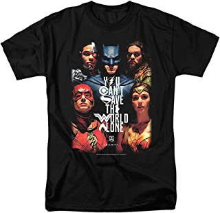 Justice League Movie 2017 DC Comics T Shirt & Stickers