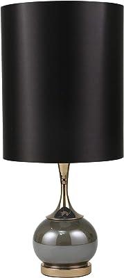 "Sagebrook Home 50378-01 Glass 29"" Globe Table Lamp, Pearl Green"