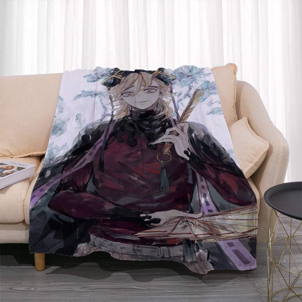 Nsddm Demon Slayer Series Douma Feature Blanket Ho 正規品 Anime 爆買い送料無料 Pattern