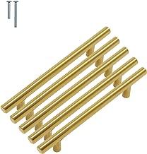 BESTSOON-BE Poign/ée de Porte en m/étal Poign/ée de Trappe en Laiton Massif Bronze Antique for tiroir en Cuir de Valise//Coffre Couleur : Antique Bronze, Taille : 148 * 29mm Pack de 2pcs