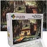 GFSJJ 1000 Piezas Puzzles 1000 Piezas Adultos Choza De Fantasía Puzles para Niño Infantiles Adolescentes Adultos Regalos para Mujer (29.5 X 19.7 Pulgada)