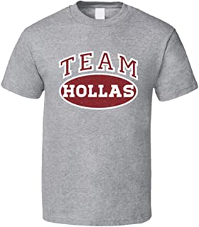 Team Hollas Tee Funny Last Name Family Reunion Group T Shirt