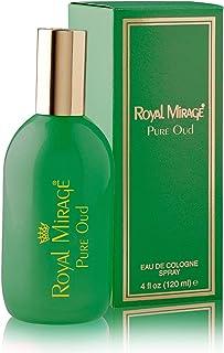 Royal Mirage Pure Oud Eau de Cologne Perfume for Men 120ml