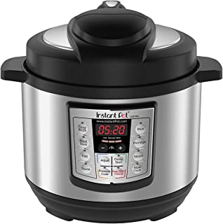 Instant Pot Lux Mini 6-in-1 Electric Pressure Cooker, Slow Cooker, Rice Cooker, Steamer, Saute, and Warmer|3 Quart|10 One-Touch Programs