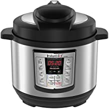 Instant Pot Lux Mini 6-in-1 Electric Pressure Cooker, Sterilizer Slow Cooker, Rice Cooker, Steamer, Saute, and Warmer, 3 Q...