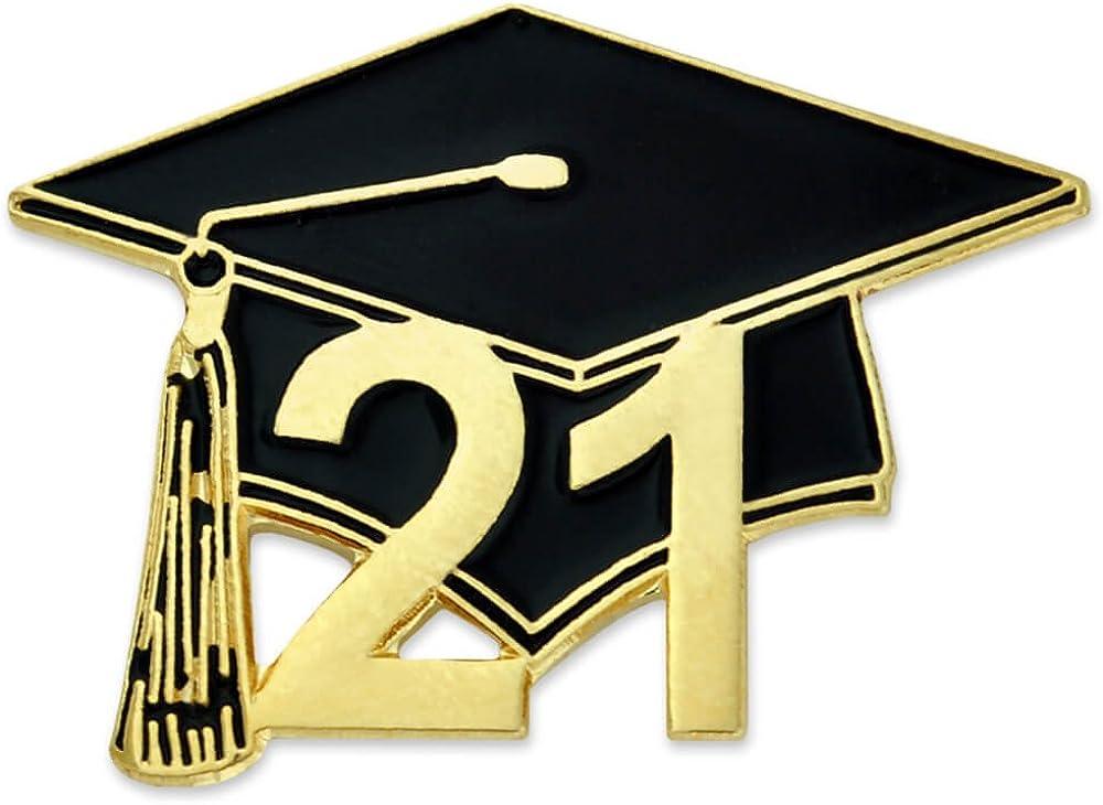 PinMart Louisville-Jefferson County Mall Class of 2021 Graduation Lapel Student School Cap Enamel Dallas Mall