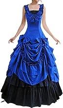 Loli Miss Womens Sleeveless Bowknot Gothic Lolita Dress Floor Length Ball Gown