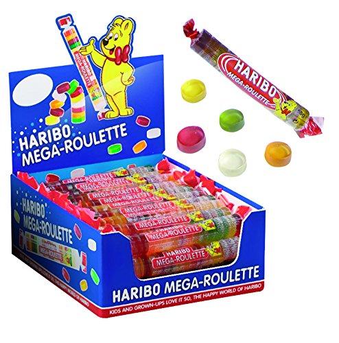 Haribo Mega-Roulette Fruchtgummi Rollen 45g