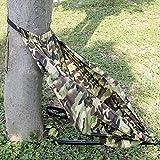 Heyeasy Hamaca silla de asiento de camuflaje silla de caza ligera y portátil que acampa se cuelga en cualquier árbol