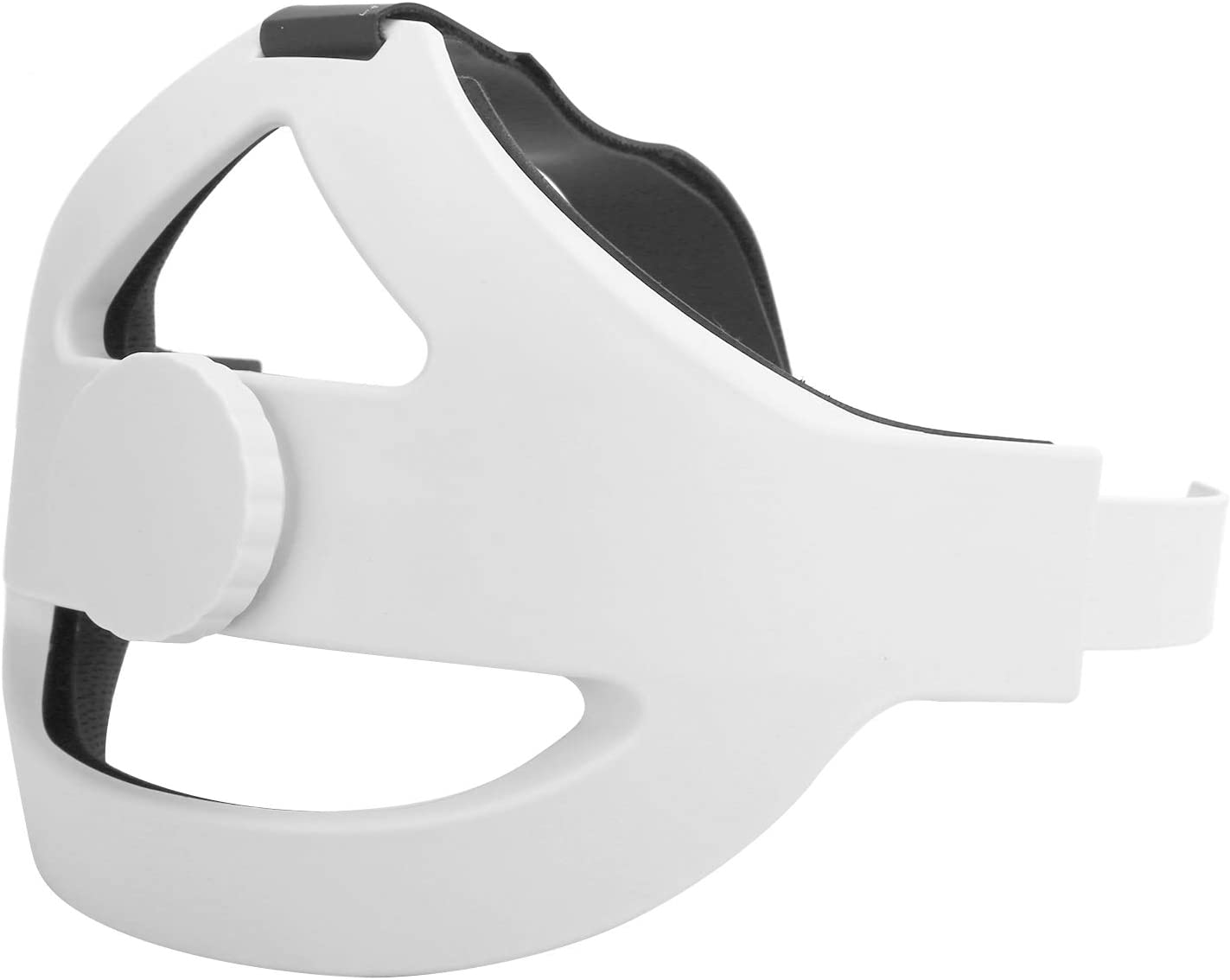 VR Head Strap, 360 Degree Rotation Adjustable Replace Elite Strap, for Oculus Quest 2 VR Headset Accessories, Support Scientific Reduce Head Pressure, with Short and Long Mounting Bracket, Manual