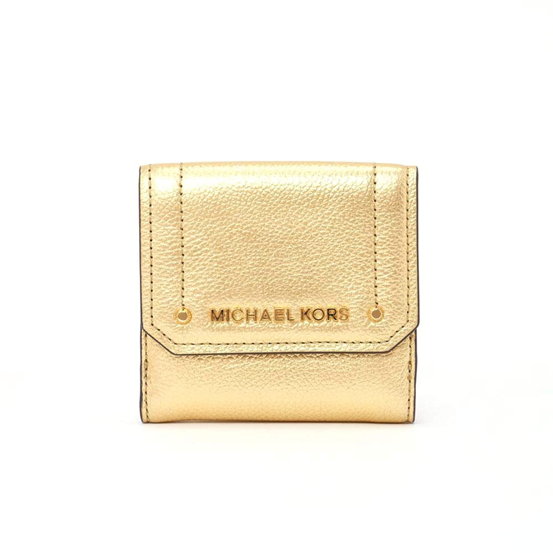 (マイケル マイケルコース) MICHAEL MICHAEL KORS 折財布 折財布 35F8GYEF2M ゴールド系(GOLD) 【HAYES】 [並行輸入品]