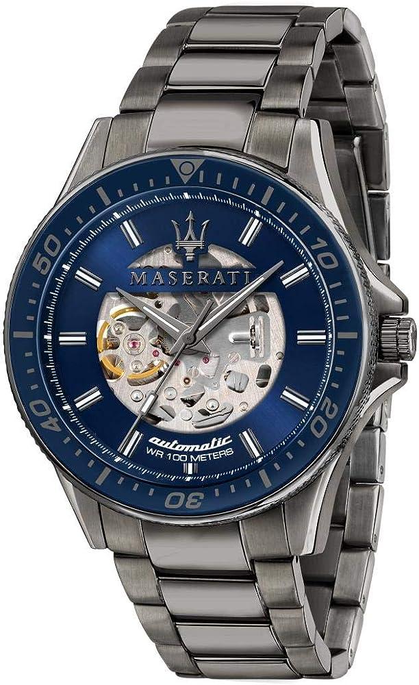 Maserati orologio da uomo, collezione sfida in acciaio inossidabile 8033288894674