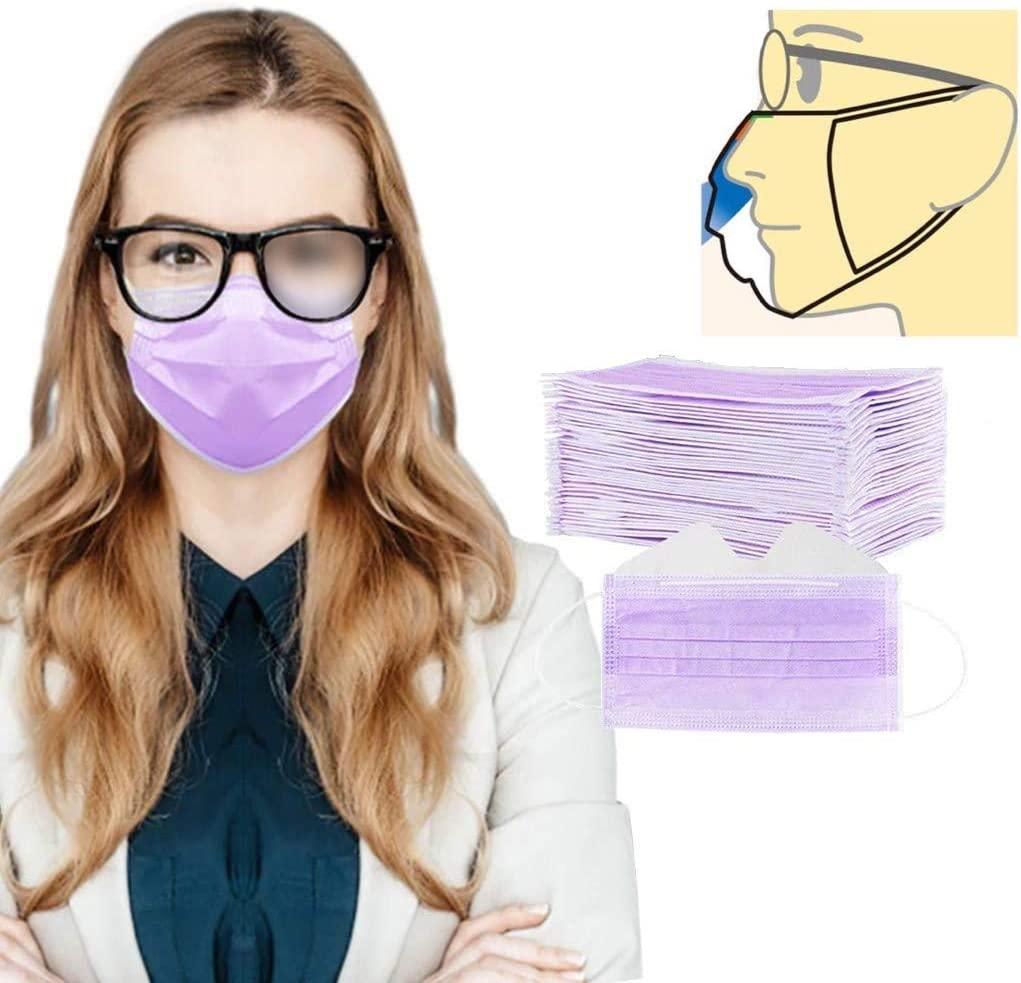 Shanyuna Anti Fog 67% OFF of fixed price Face_Mask For Max 40% OFF People Wearers Glas With Glasses