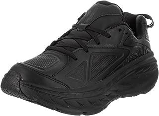 Mens Bondi Leather Running Shoe