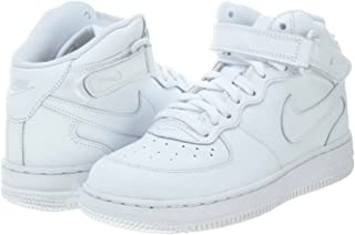 Nike Little Kids Air Force 1 Mid Basketball Shoes