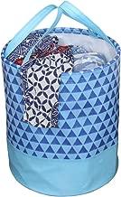 PrettyKrafts Canvas Laundry Bag, Toy Storage, Laundry Storage (45 L) - Blue