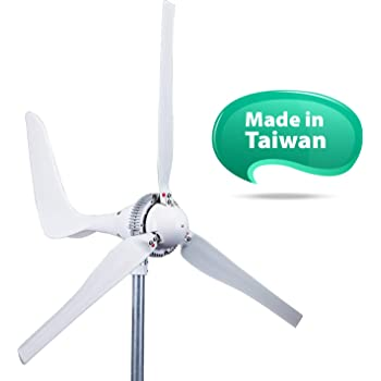 Automaxx Windmill 1500W 24V 60A Wind Turbine Generator kit. Automatic and Manual Braking System DIY Installation, MPPT Controller with Bluetooth Function Xmas Gift