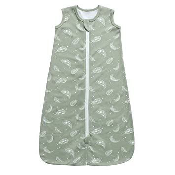 Feathe Touched By Nature Girl Organic Cotton Wearable Safe Sleeping Bag Blanket