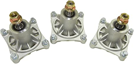 proven part Set of 3 Replacement Mower Deck Spindle Assembly Hustler 604214 Raptor