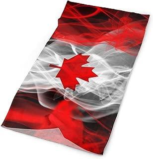 INStophot Cool Canada Logo Headband Bandana Mask Sports Seamless Breathable Turban for Workout, Fitness, Running, Cycling, Yoga