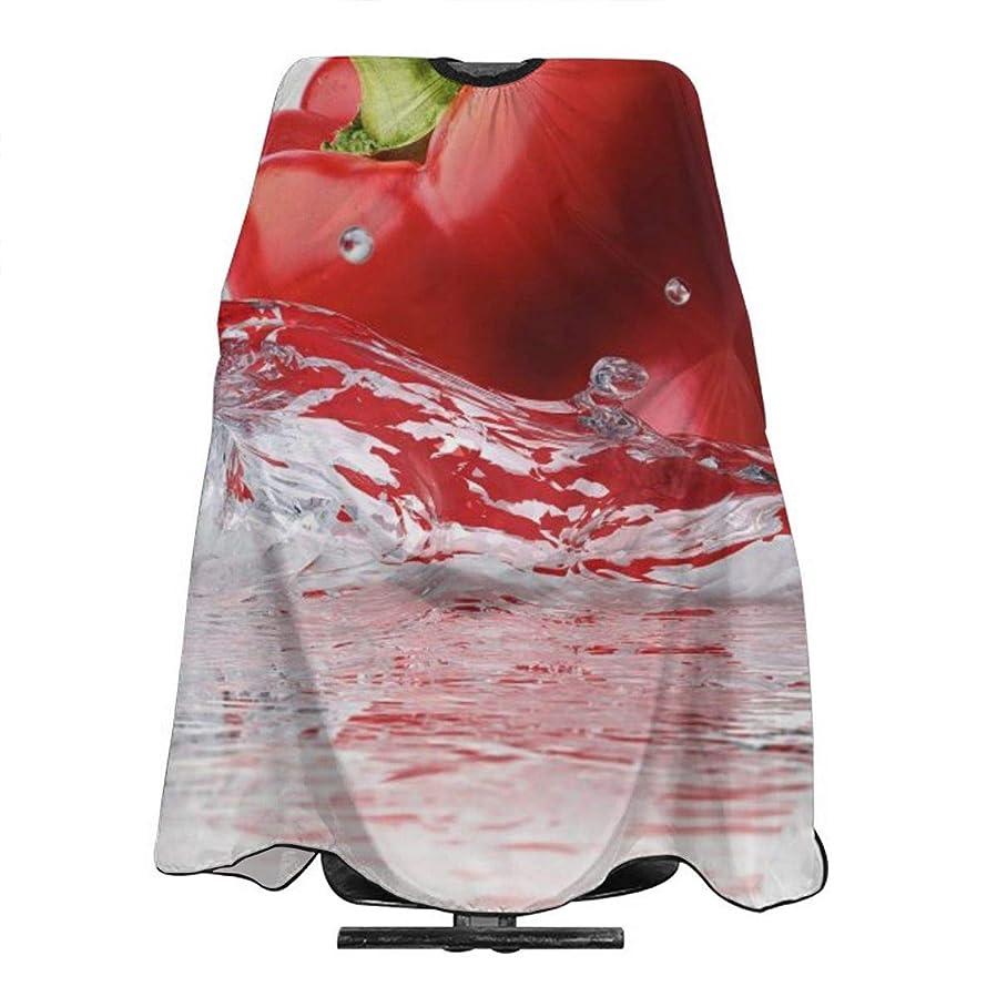 非常に怒っています気になる応じるSUNDY 果物と氷 チリ 大人 散髪ケープ セルフカット ヘアエプロン 散髪マント 140*168cm