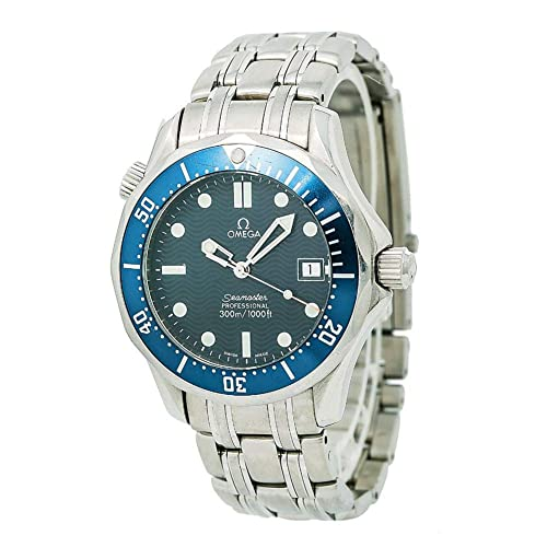 Omega Seamaster Analog-Quartz Male Watch 2541.80.00 (Certified Pre-Owned)