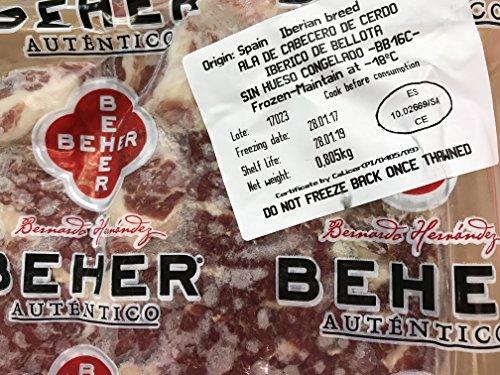 スペインイベリコ豚のカルビ肉3枚約800g 最良品質ベジョータ