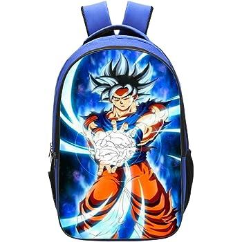 Cartable Dragon Ball Z Sac /à Dos Dragon Ball Super Garcon Sac Maternelle Enfant Animation Sac Scolaire College Ados Fille Anime Sac decole Primaire Sac Scolaire de Voyage Loisir 17