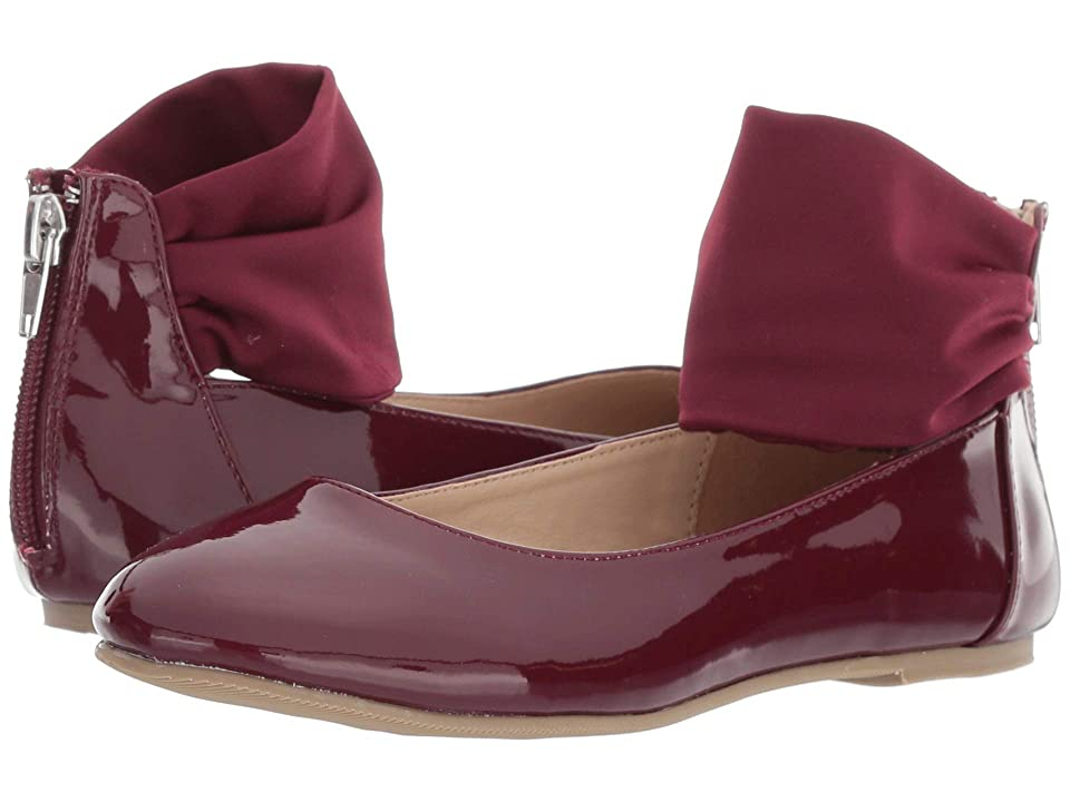 Amiana 6-A0934 (Toddler/Little Kid/Big Kid/Adult) (Burgundy Patent) Girl