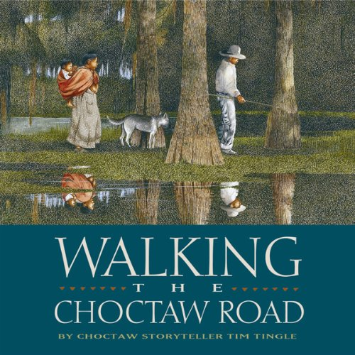 Walking the Choctaw Road audiobook cover art