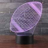 3D Lampes Illusions Optiques NHsunray 7 couleurs Changement Tactile Interrupteur...