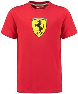 FERRARI Camiseta ni/ño Escuder/ía F1 2012 Rojo Talla 08