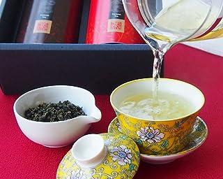 香茗特別ギフト 特級 凍頂烏龍茶 + 特級 阿里山金萱茶 2缶セット