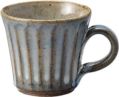 日本陶彩 マグカップ ブルー 200ml T94486140