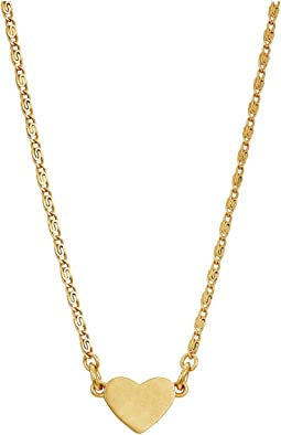 Tory Burch - Delicate Heart Necklace