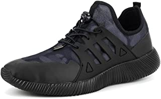 recorrer Snazz Men's Black Lace-up Casual Sneakers Shoes