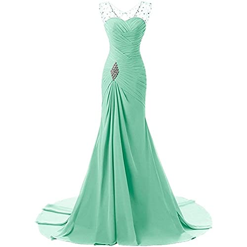 f21ddf2b8067 Lily Wedding Womens Mermaid Prom Bridesmaid Dresses 2018 Long Evening Formal  Party Ball Gowns FED003